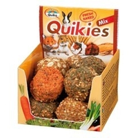 Chews & Treats  - Quiko Sunseed Quikies Mix Small Animal Treats 120g (6 pack)
