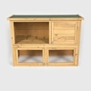 Rabbit Hutch With Run: Standard Opening Pent Roof by PetPlanet