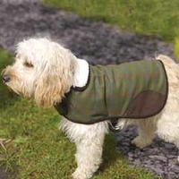 Rosewood Country Tweed Dog Coat 10-12in