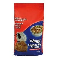 Food  - Wagg Guinea Pig Crunch Food 15kg