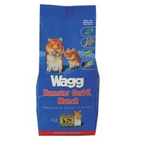 Food  - Wagg Hamster Gerbil Munch 1kg