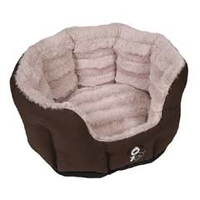 YAP Fabriano Oval Dog Bed - 66 x 49cm