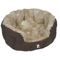 YAP Peluchi Giraffe Oval Dog Bed - 34inch