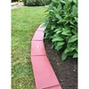 1m EasyEdge Artificial Grass Lighting Edging - Terracotta - H5cm