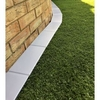 5m EasyEdge Artificial Grass Edging - Silver - H5cm