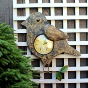 Garden Equipment  - Craftsman Embossed Bird Clock