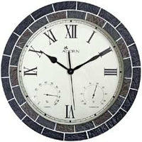 Other Garden Equipment & Decoration  - Earlswood Mosaic Clock & Weather Station