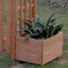 FSC Fir Planter Boxes for Fuchsia Garden Arch