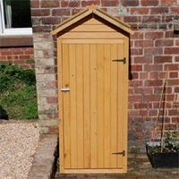 Sheds  - Greenfingers Apex Tool Shed - W2.6ft x D1.5ft