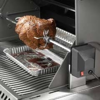 Barbecues & Accessories  - Napoleon Heavy Duty Rotisserie Kit - Triumph Series BBQs