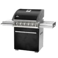 Barbecues & Accessories  - Napoleon LE3 Six Burner Gas BBQ With Infrared Side and Back Burners - Black