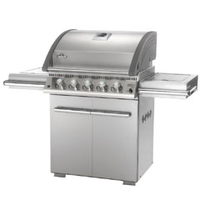 Barbecues & Accessories  - Napoleon LE3 Six Burner Gas BBQ With Infrared Side and Back Burners - Stainless Steel