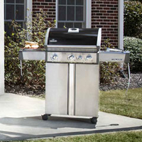 Barbecues & Accessories  - Napoleon Triumph 410 Four Burner Gas BBQ With Side Burner