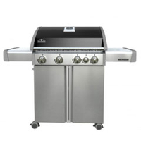 Barbecues & Accessories  - Napoleon Triumph 495 Five Burner Gas BBQ With Side Burner