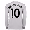Football / Soccer 20Ibrahimovic 107-20Ibrahimovic 108 Man United Long Sleeve Third Shirt (Ibrahimovic 10) - Kids