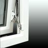 Screws, Nuts & Bolts Surface Mounted Window Restrictor - Locking - Surface Mounted Window Restrictor Right Hand - White