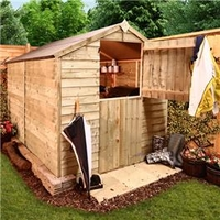 Sheds  - 10 x 6 Pressure Treated Overlap Apex
