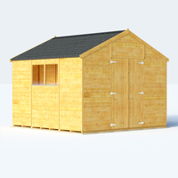 Sheds  - 10x10 T&G Apex Windowed - BillyOh Expert Garden Shed