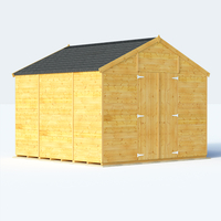Sheds  - 10x10 T&G Apex Windowless - BillyOh Expert Garden Shed