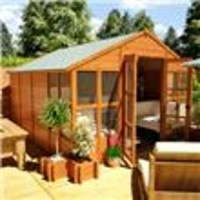 12 x 10 - BillyOh 4000 Tete a Tete Tongue and Groove Summerhouse