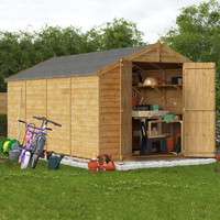 16x8 Keeper Overlap Apex Wooden Shed - Windowless BillyOh