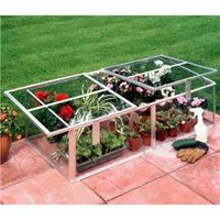 Greenhouses  - 4 x 2 Coldframe Toughened Glass