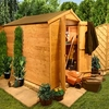 4 x 7 - BillyOh 4000 Windowless Lincoln Tongue & Groove Double Door Apex Garden Shed