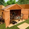 4 x 7 30 Overlap Store Shed B-Grade