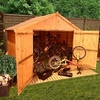 4 x 7 Bike Store Tongue and Groove