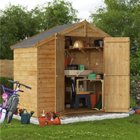 4x8 Keeper Overlap Apex Wooden Shed - Windowless BillyOh
