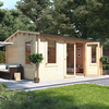 5.0m x 3.5m BillyOh Dorset Log Cabin - 70