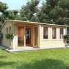 5.5m x 5.0m BillyOh Kent Garden Office - 44
