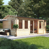 5.5m x 3.5m BillyOh Dorset Log Cabin - 70