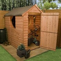Sheds  - 6 x 4 - BillyOh Traditional Economy Apex Shed
