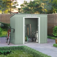 Sheds  - 7x4 BillyOh Cargo Pent Metal Shed Including Foundation Kit