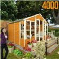 8 x 10 - BillyOh 4000 Tete a Tete Tongue and Groove Summer House