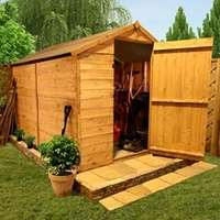 Sheds  - 8 x 6 - BillyOh 300 Windowless   Tongue & Groove Apex Shed