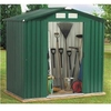 8 x 6 Including Foundation Kit Metal Shed