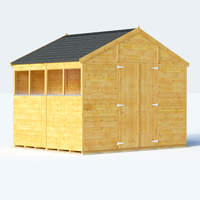 Sheds  - 8x10 T&G Apex Windowed - BillyOh Expert Large Shed