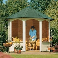 Garden Houses & Buildings  - Andrea Octagonal Summerhouse 8