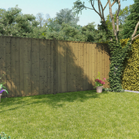 Garden Furniture  - BillyOh 6ft x 6ft Pressure Treated Closeboard Fence Panel - 8 Panels - 48 FT