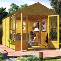 Garden Houses & Buildings  - BillyOh Holly Tongue and Groove Apex Summerhouse