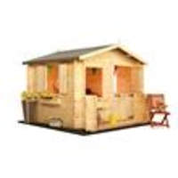 BillyOh Mad Dash 2.0 x 2.0m Junior Log Cabin Wooden Playhouses