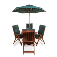 BillyOh Windsor 1.0m Round Dining Set - 2 or 4 Seat Set with Chairs - Recliner Chair x 4