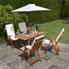 BillyOh Windsor 1.2-1.6m Rectangular Dining Set - 4 or 6 Seat Set with Chairs - Recliner Chair x 4
