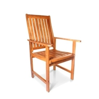 Garden Chairs  - BillyOh Windsor High Back Wooden Garden Armchair