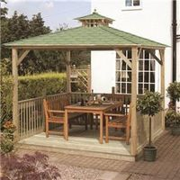 Arbours & Gazebos  - Canopy and Floor 9 x 10