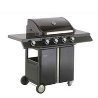 Barbecues & Accessories  - Ebony Deluxe 4 Burner