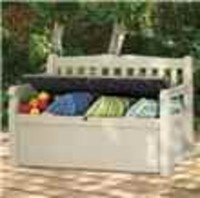 Garden Equipment  - Keter Eden Garden Storage Bench