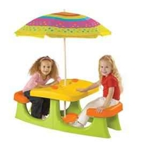 Garden Furniture  - Keter Patio Center - Childrens Picnic Table